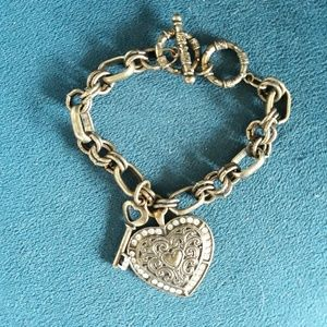 Key To My Heart Charm Bracelet